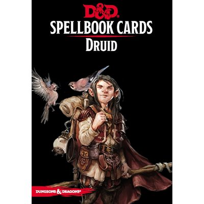 Dungeons & Dragons: Spellbook Cards Druid
