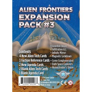 Alien Frontiers Expansion Pack #3