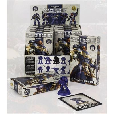 Warhammer 40,000 Space Marine Heroes Collectible Display ^ Nov. 10