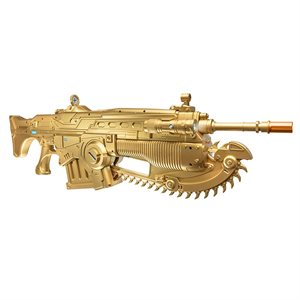 Gears of War 4 Prop Replica Customized Gold Lancer