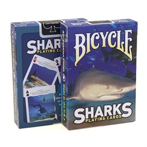 Bicycle Deck Sharks