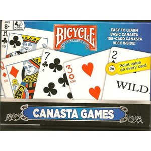 Canasta 2 Pack Card Games (ENGLISH Only)