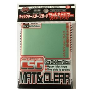 Sleeves Character Guard Clear (60)