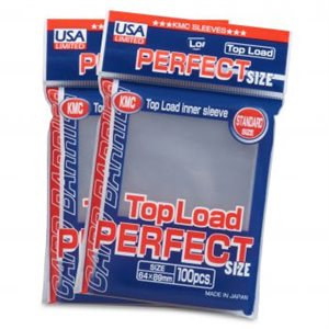 Sleeves: Full Sized Perfect Clear USA Label (100)