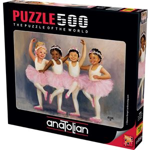 Puzzle: 500 Little Ballerinas