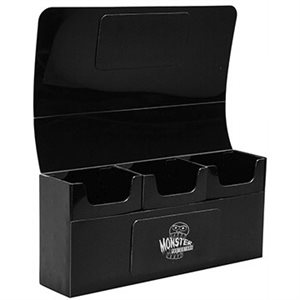 Deck Box: Monster Triple Deck Box Black