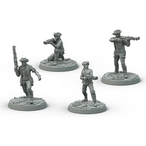 Fallout: Wasteland Warfare: Survivors Minutemen Posse ^ Aug