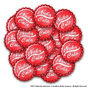 Fallout: Wasteland Warfare: Nuka Cola Caps Set ^ May