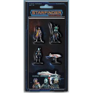Starfinder Minis: Iconic Heroes Set #1 ^ Aug