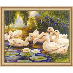 Paint by Numbers: Duck Pond (Multi)