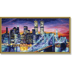 Paint by Numbers: Manhattan at Night (Multi)