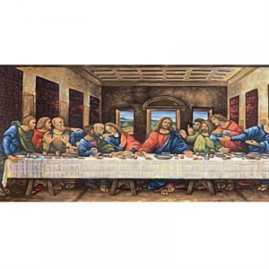 Paint by Numbers: Last Supper