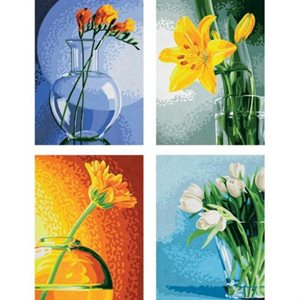 Paint by Numbers: Flowers in Light