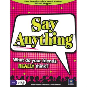 Say Anything (No Amazon Sales)