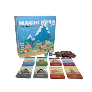 Machi Koro 5th Anniversary Edition ^ Jan 2019