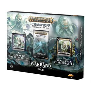 Warhammer Age of Sigmar Champions CCG: Warband Collectors Pack ^ Mar 2019