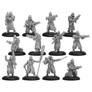 Crucible Guard: Infantry and CA Unit (12) (Metal / Resin)