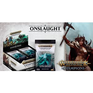 Warhammer Age of Sigmar Champions CCG: Onslaught Booster Display