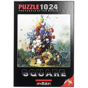 Puzzle: 1024 Flowers Bouquet