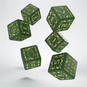 Battletech Dice: House Liao (6)