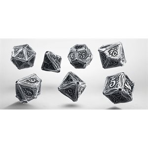 Metal Call of Cthulhu Dice Set 7 pc