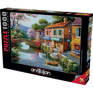 Puzzle: 1000 Quaint Village Shops