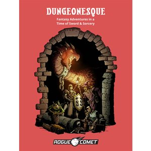 Dungeonesque Red Box RPG (BOOK)
