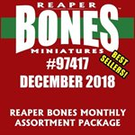 Bones Monthly Assortment Package December