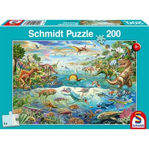 Puzzle: 200 Discover The Dinasaurs