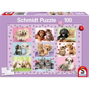 Puzzle: 100 My Animal Friends