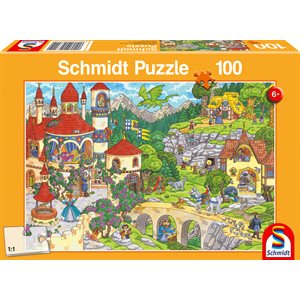 Puzzle: Child 100 A Fairytale Kingdom