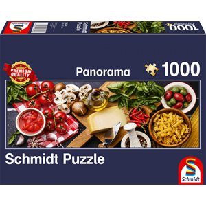 Puzzle: 1000 Italian Cooking, Panorama