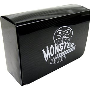 Deck Box: Monster Double Deck Box Black