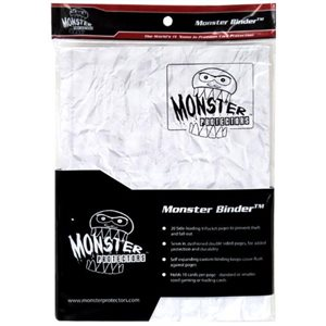 Monster 9P Binder - Marble White / White Pages
