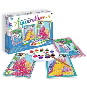 Aquarellum: Magic Canvas Large Japanese (Multi)