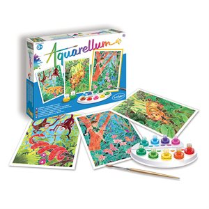 Aquarellum: Magic Canvas Large Jungle Book (Multi)