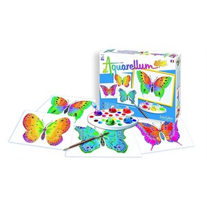 Aquarellum: Magic Canvas Junior Butterflies (Multi)