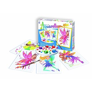 Aquarellum: Magic Canvas Junior Fairies (Multi)