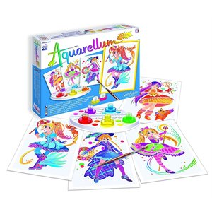 Aquarellum: Magic Canvas Junior Magical Girls (Multi)