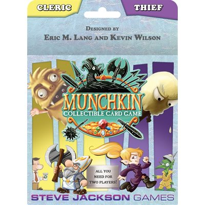 Munchkin Collectible Card Game: Cleric Thief