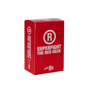 SUPERFIGHT: The Red Deck (R-Rated) (No Amazon Sales)
