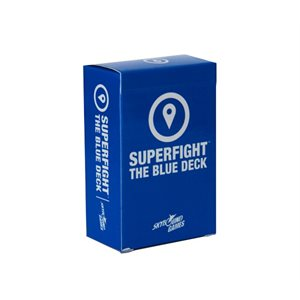 SUPERFIGHT: The Blue Deck (Fight Locations) (No Amazon Sales)