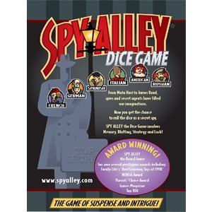 Spy Alley Dice