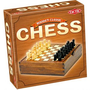 Chess In Handy Wooden Box