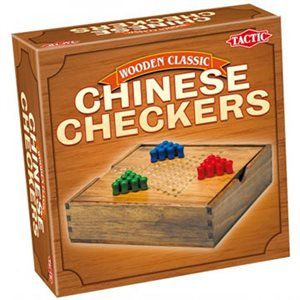Chinese Checkers In Handy Wooden Box