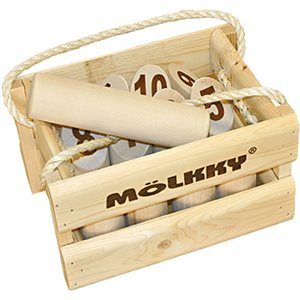 Molkky Wooden Crate