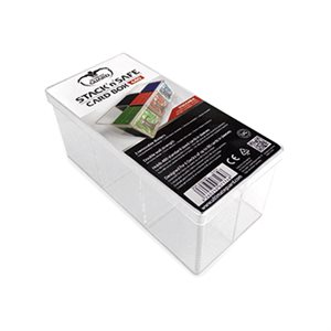 Deck Box: Stack N Safe Card Box 480Ct