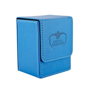 Deck Box: Flip Deck Case Leather 80 Blue