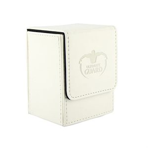 Deck Box: Flip Deck Case Leather 80 White