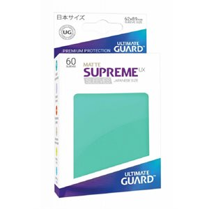 Sleeves: Supreme UX Japanese Matte Turquoise (60)